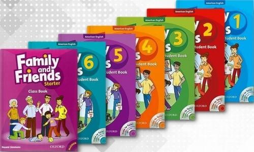 کتاب های آموزشی Family and Friends