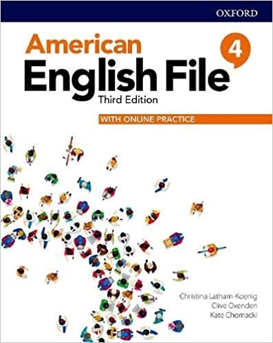 کتاب امریکن انگلیش فایل 4 ويرايش سوم American English File 4 3rd Edition