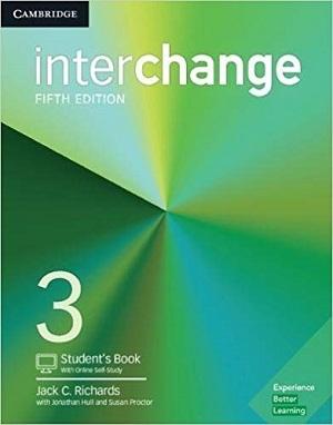کتاب اینترچنج 3 ویرایش پنجم Interchange 3 (5th) SB+WB+CD