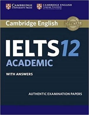 کتاب آیلتس کمبریج 12 آکادمیک  IELTS Cambridge 12 Academic+CD
