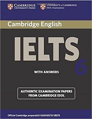 کتاب آیلتس کمبریج 6 IELTS Cambridge 6+CD