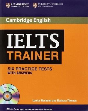 کتاب کمبریج آیلتس ترینر (cambridge IELTS Trainer (Six Practice Tests with Answers
