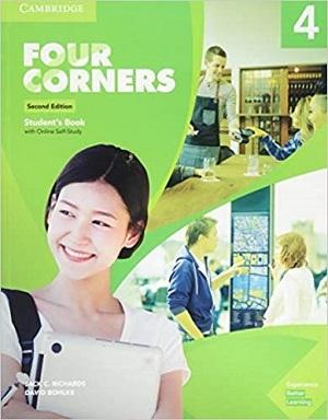 کتاب آموزشی فورکورنرز 4 ویرایش دوم Four Corners 4 Second Edition