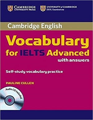 کتاب واژگان آیلتس پیشرفته Cambridge Vocabulary for IELTS Advanced with Answers & Audio CD