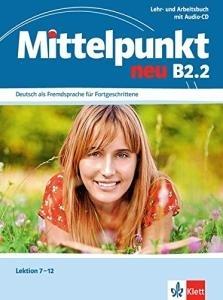 کتاب آلمانی Mittelpunkt neu B2.2: Lehr- und Arbeitsbuch, Lektion 7-12 inkl. Audio-CD