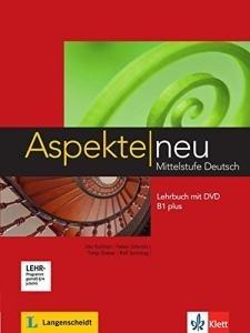 کتاب آلمانی اسپکته جدید Aspekte neu B1 mittelstufe deutsch lehrbuch + Arbeitsbuch mit audio-cd DVD