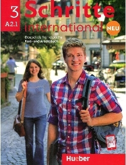 کتاب آلمانی شریته اینترنشنال جدید Schritte International Neu A2.1