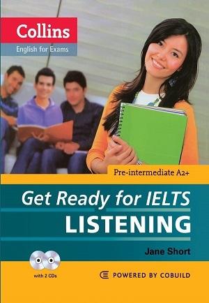 کتاب کالینز گت ردی فور آیلتس لیسنینگ پری اینترمدیت Collins Get Ready for IELTS Listening Pre-Intermediate+CD