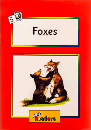 کتاب Jolly Readers Foxes