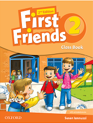 کتاب First Friends 2 (2nd) SB+WB+Maths book+CD