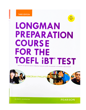 کتاب Longman Preparation Course for the TOEFL iBT Test 3rd Edition