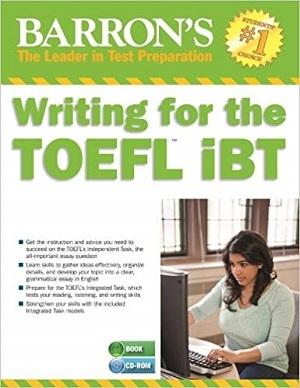 کتاب  Writing for the TOEFL IBT BARRONS 5TH Edition +CD
