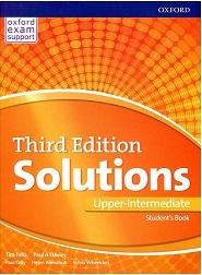 کتاب آموزشی سولوشنز آپر اینترمدیت میرایش سوم  Solutions Upper-Intermediate 3rd Edition