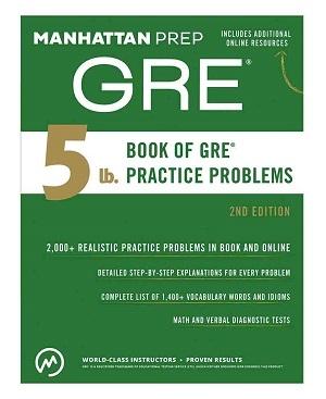 کتاب جی آر ای منهتن ویرایش دوم GRE Manhattan 2nd
