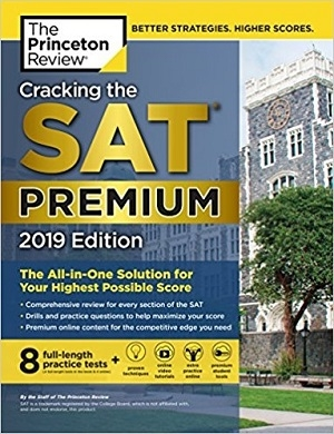 کتاب Cracking the SAT Premium Edition with 8 Practice Tests 2019