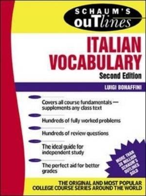 کتاب Schaum's Outline of Italian Vocabulary,