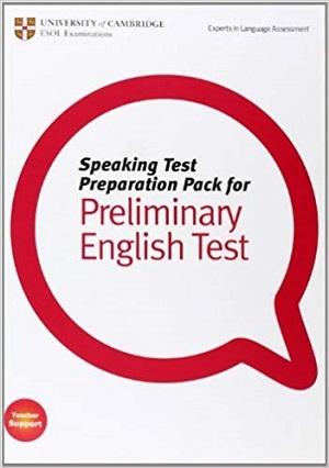 کتاب Speaking Test Preparation Pack for Preliminary English test