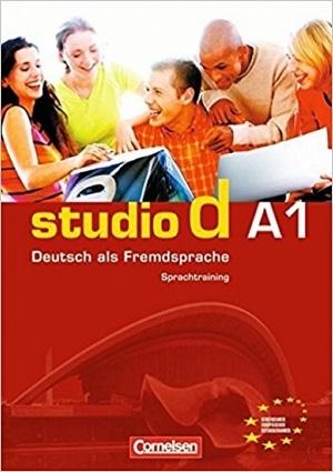 کتاب اشتودیو دی (Studio d: Sprachtraining A1 (SB+WB+DVD