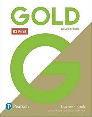 کتاب معلم گولد Gold B2 First New 2018 Edition Teacher's Book and DVD