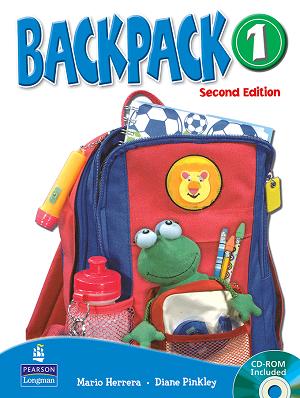 کتاب (Backpack 1 Student Book ( Work Book +CD