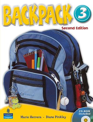 کتاب بک پک 3 (Backpack 3 Student Book ( Work Book+CD