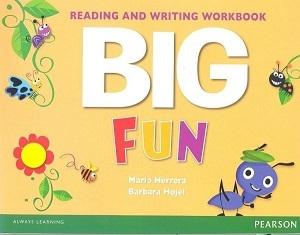کتاب بیگ فان ریدینگ اند رایتینگ ورک بوک  BIG Fun Reading and Writing Workbook
