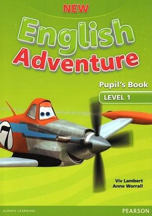 کتاب (New English Adventure Level 1 (Activity+CD