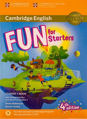 کتاب Fun for Starters Students Book 4th+Home Fun Booklet 2+CD