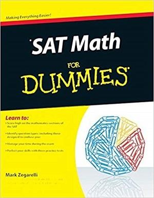 کتاب SAT Math For Dummies
