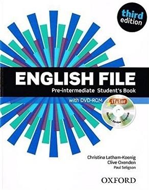 کتاب آموزشی انگلیش فایل پری اینترمدیت ویرایش سوم English File Pre-intermediate Student Book 3rd