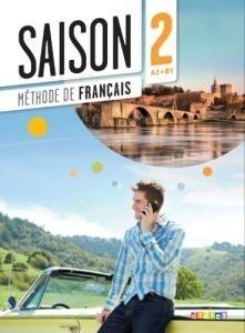 کتاب فرانسوی سزون Saison niveau 2 A2/B1 - livre de l'eleve + cahier + dvd