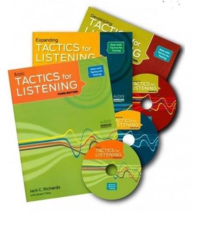 مجموعه 3 جلدي تکتیس فور لیسنینگ Tactics for Listening