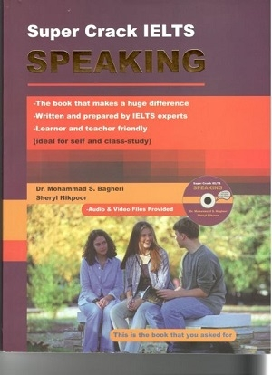 کتاب Super Crack IELTS Speaking+DVD