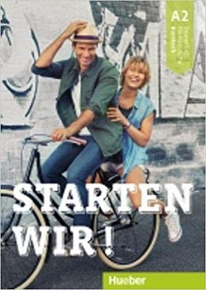 کتاب آلمانی اشتارتن ویر Starten wir! A2: kursbuch und Arbeitsbuch mit CD انتشارات جنگل