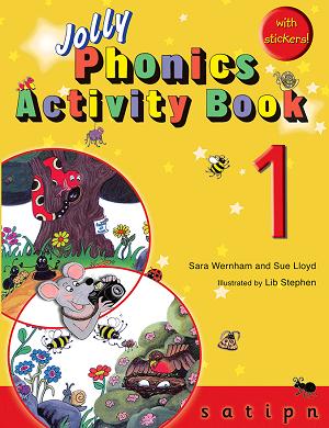 کتاب Jolly Phonics Activity Book 1 +Work book