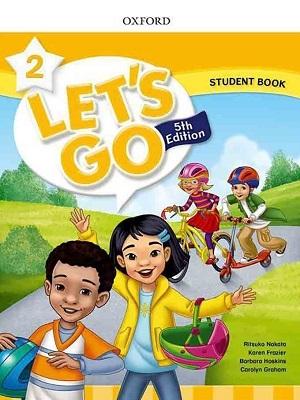 کتاب Lets Go 5th 2 SB+WB+DVD وزيري