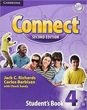 کتاب آموزش کانکت 4 ویرایش دوم Connect 2nd 4 SB+WB+CD
