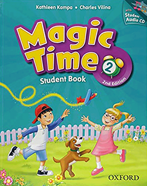 کتاب Magic Time 2 Student Book 2nd Editon