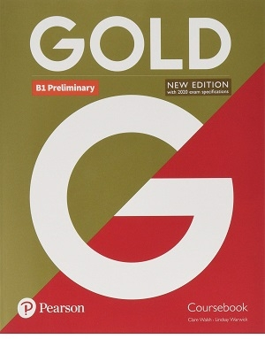 Gold B1 Preliminary New Edition Coursebook+Exam Maximiser+CD کتاب گلد پریلمینری جدید