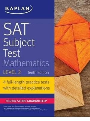 کتاب SAT Subject Test Mathematics Level 2