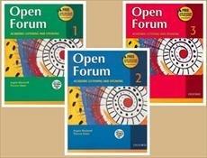 پک سه جلدی اپن فروم Open Forum 1+2+3+CD