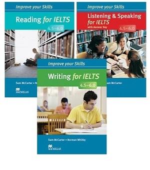 پک کامل کتاب های ایمپرو یور آیلتس Improve Your Skills ielts 4.5-6