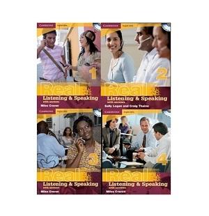پک کامل Cambridge English Skills Real 1+2+3+4+CD