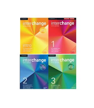 پک کامل کتاب اینترچنج ویرایش پنجم interchange intro +1+2+3+CD