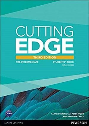 کتاب آموزشی کاتینگ ادج پری اینترمدیت ویرایش سوم Cutting Edge Pre-Intermediate 3rd SB+WB+CD