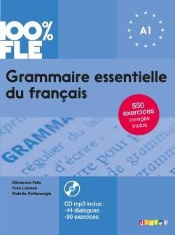 کتاب گرامر ضروری فرانسه Grammaire essentielle du français niv. A1 - Livre + CD