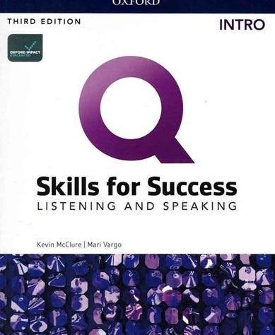 كتاب Q Skills for Success  Intro Listening and Speaking 3rd +DVD