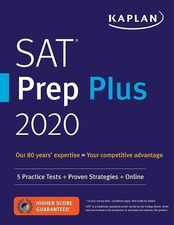كتاب SAT Prep Plus 2020