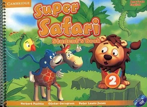 کتاب American Super Safari 2 SB+WB+CD
