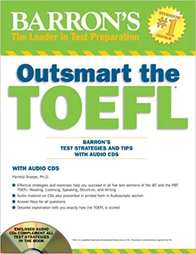 کتاب Outsmart the TOEFL with CD